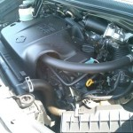 2001 Nissan Elgrand engine