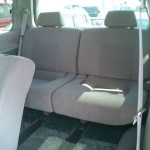 2001 Nissan Elgrand interior rear seat back seat
