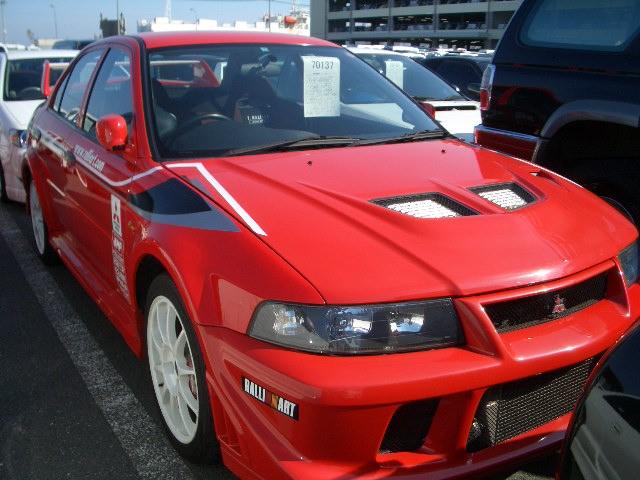 Mitsubishi Lancer EVO 6 TME red