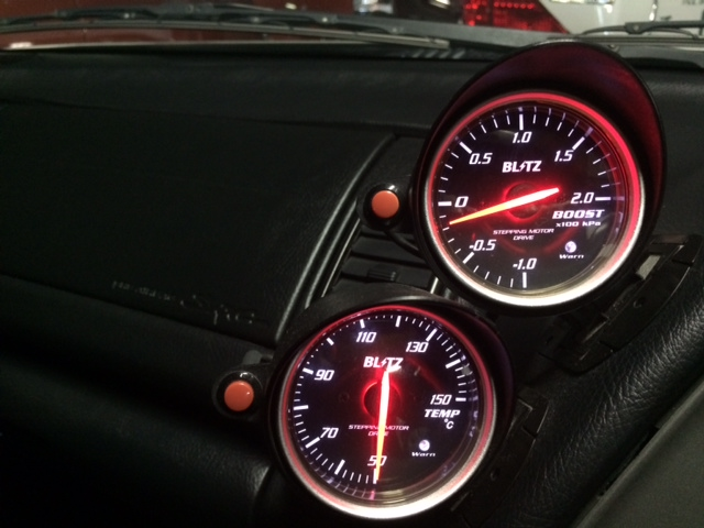 1999 Toyota Supra RZ-S 3L twin turbo gauges