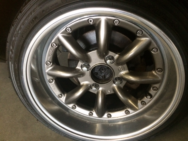 1977 Nissan Fairlady Z S31 coupe wheel