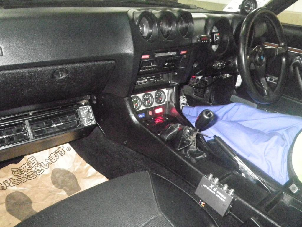 1977 Nissan Fairlady Z S31 coupe interior