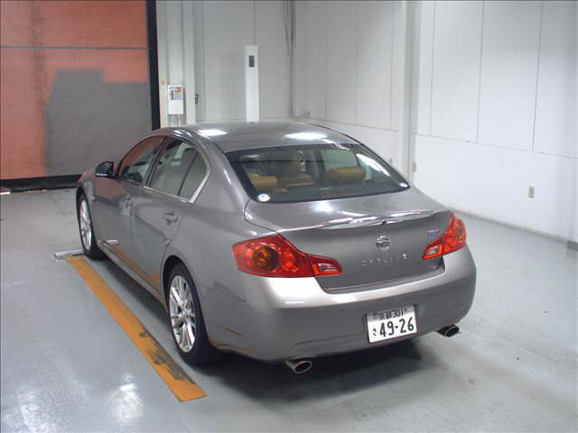 2007 Nissan Skyline V36 sedan 350GT Type SP rear