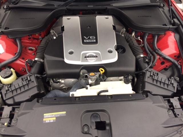 2010 Nissan Skyline V36 coupe engine