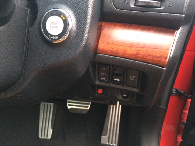 2010 Nissan Skyline V36 coupe VDC controls
