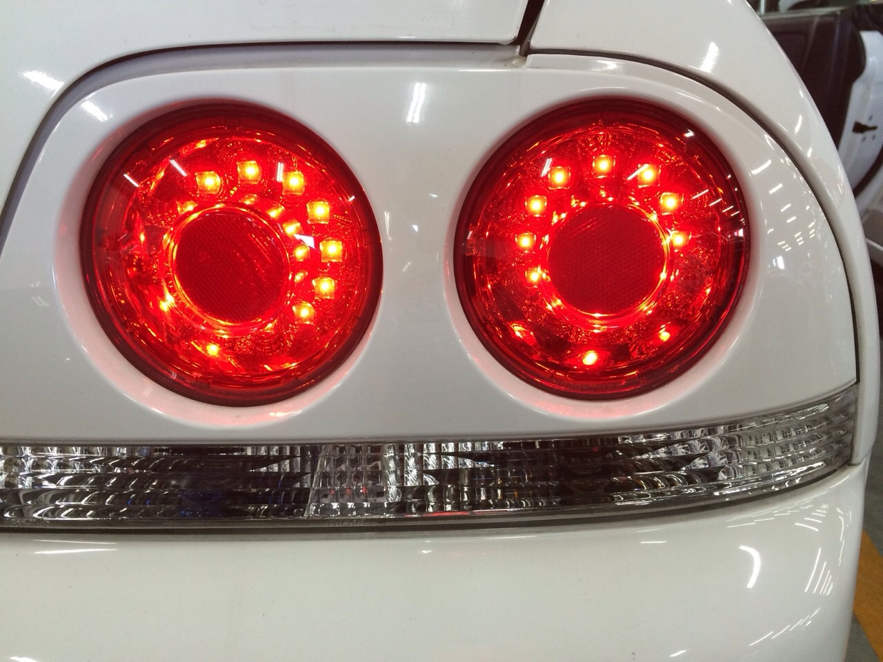 1995 Nissan Skyline R33 GTR VSpec tail lights