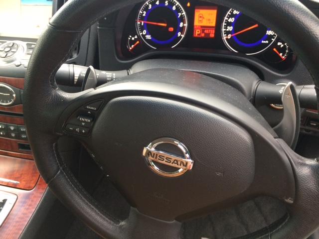 2010 Nissan Skyline V36 coupe steering wheel