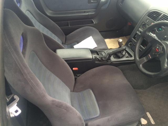 1995 Nissan Skyline R33 GTR driver seat