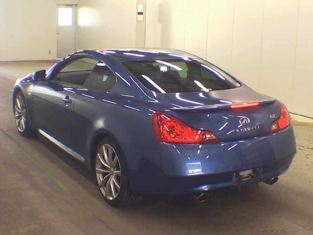 Example Auction Inspection — 2008 Nissan Skyline V36 coupe Type SP Blue Auto 39000 kms 9 May 2013-2