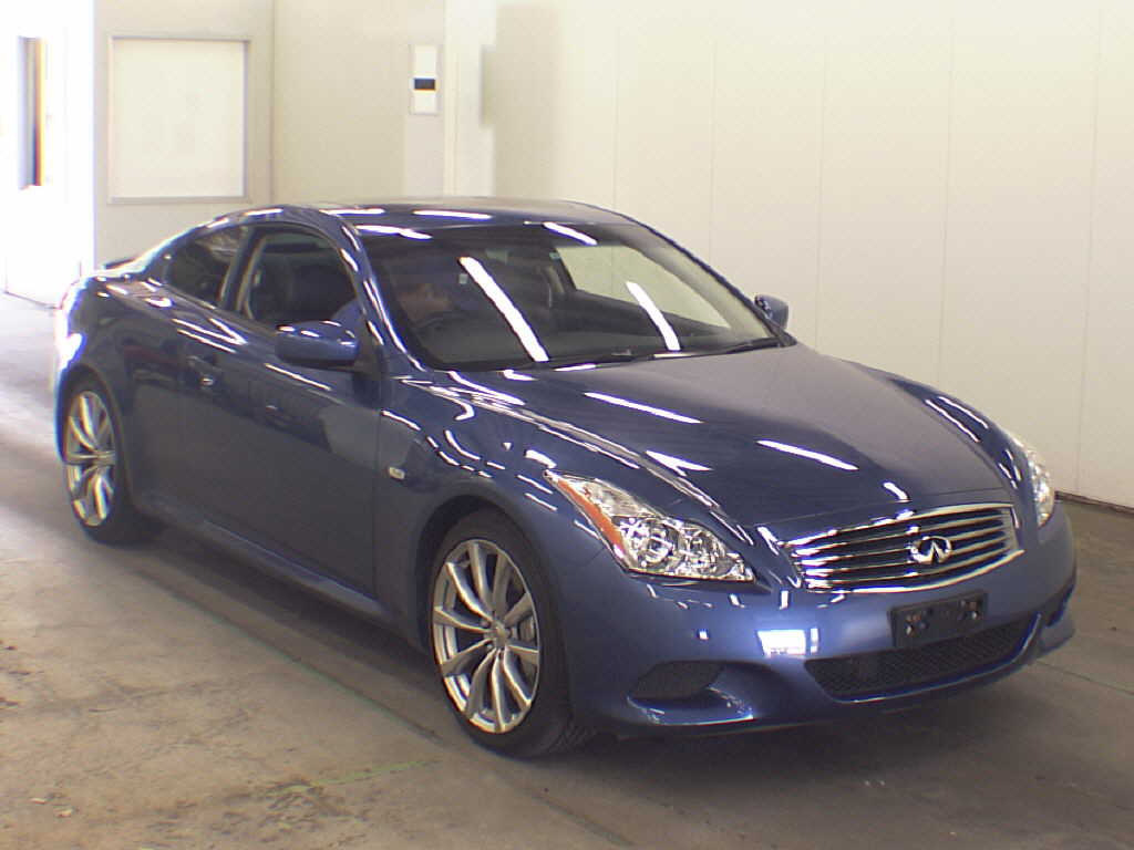 Example Auction Inspection — 2008 Nissan Skyline V36 coupe Type SP Blue Auto 39000 kms 9 May 2013