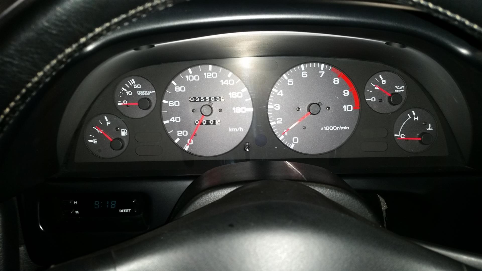R32 GTR VSpec2 gauges