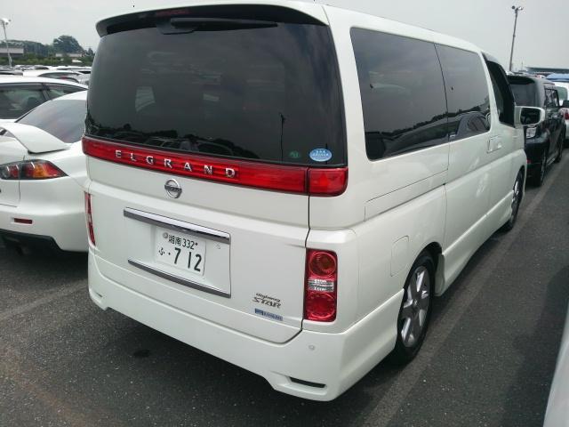 2008 Nissan Elgrand E51 rear