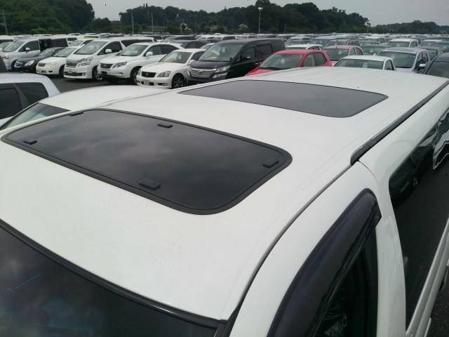 2008 Nissan Elgrand E51 dual sunroof