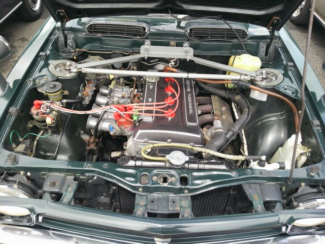 Sprinter Trueno TE27 coupe engine