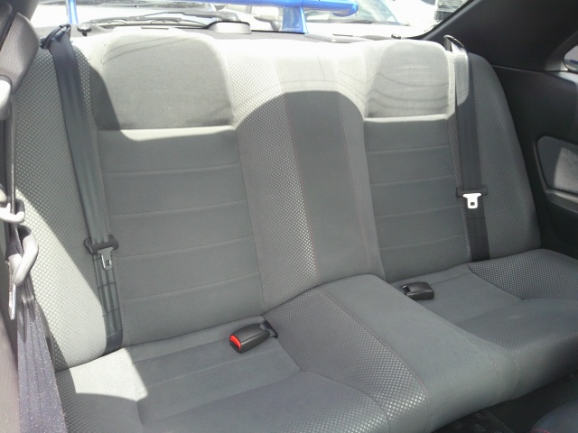 1999 Nissan Skyline R34 GTR back seat