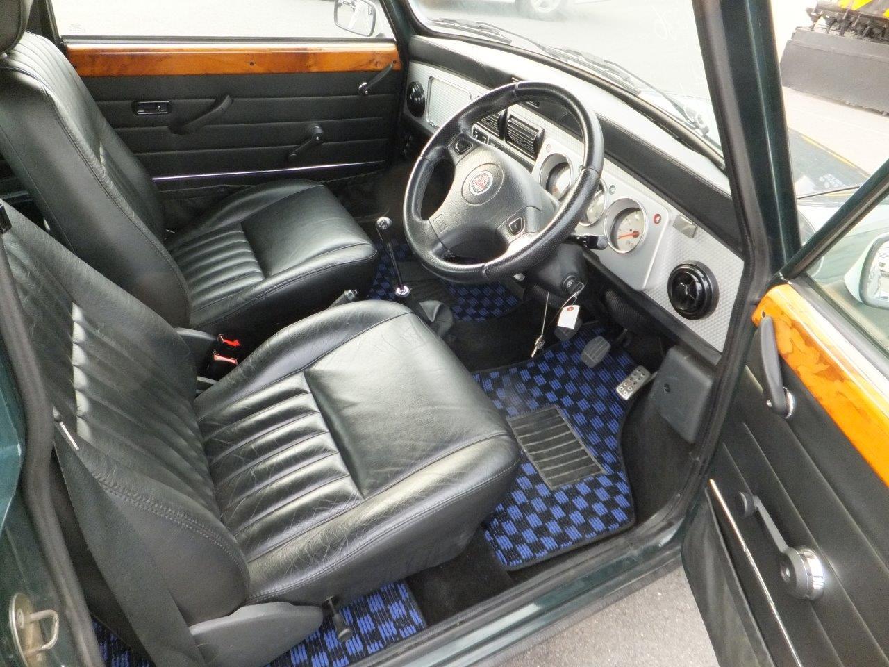 Rover Mini Cooper BSCC interior