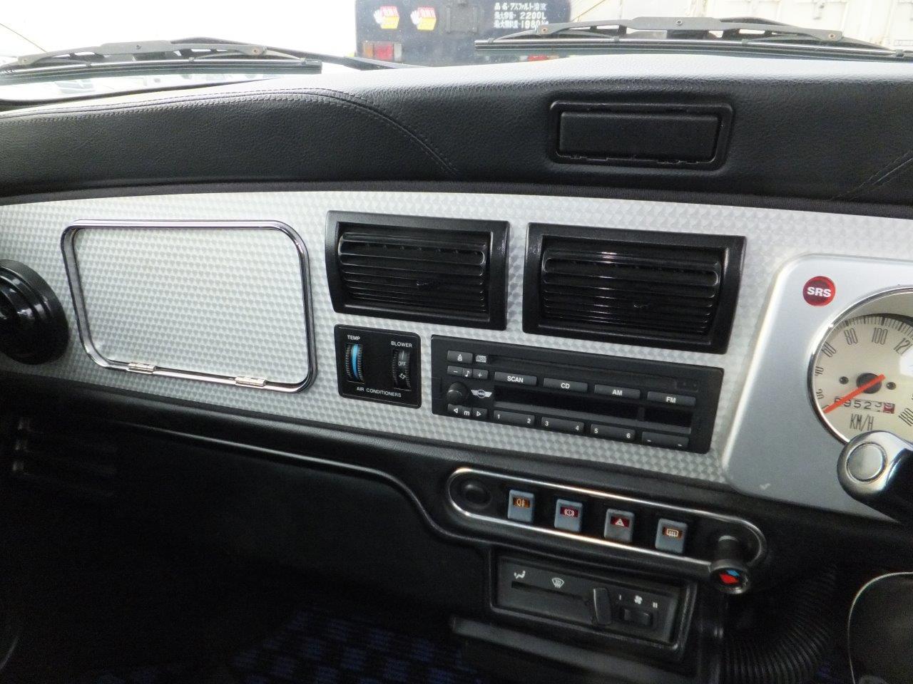 Rover Mini Cooper BSCC dash