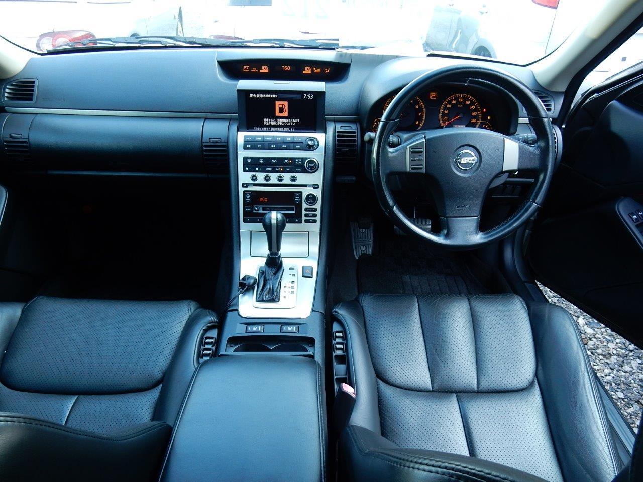 2004 Nissan Stagea AR-X interior