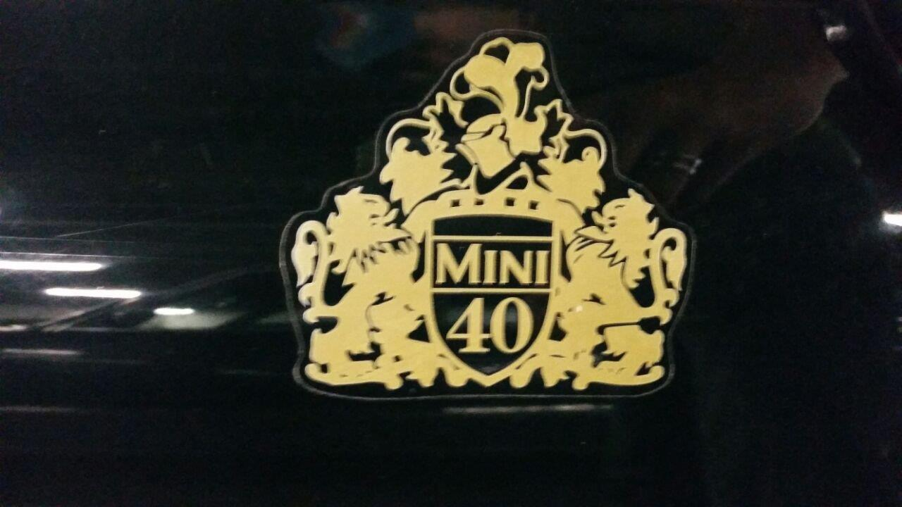 Rover Mini Cooper BSCC LTD logo
