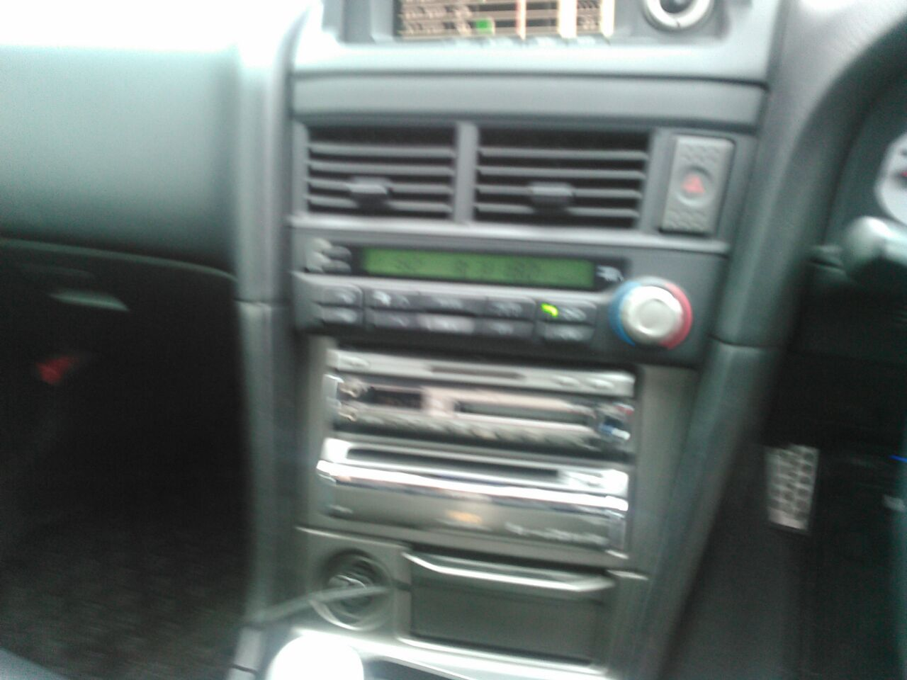 2001 Nissan Skyline R34 GTR VSpec2 centre console