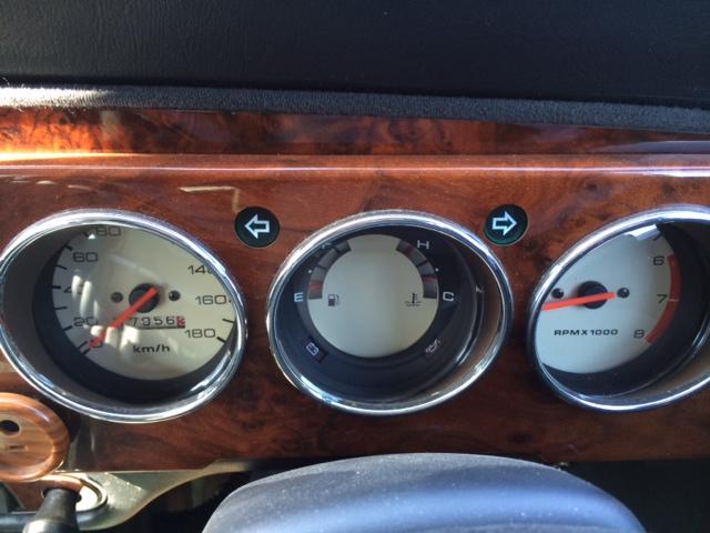 1998 Rover Mini Cooper BSCC LTD gauges
