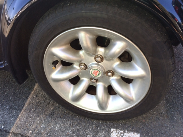 1998 Rover Mini Cooper BSCC LTD wheel