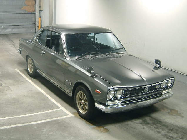 Skyline KGC10 GT coupe 10