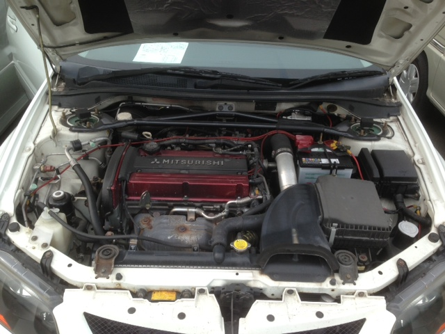 2004 Mitsubishi Lancer EVO 8 MR engine