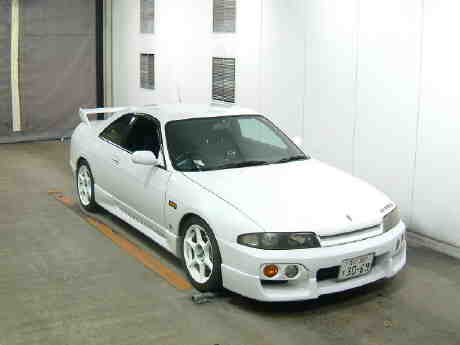 1996 Nissan Skyline R33 Gts-t front auction picture