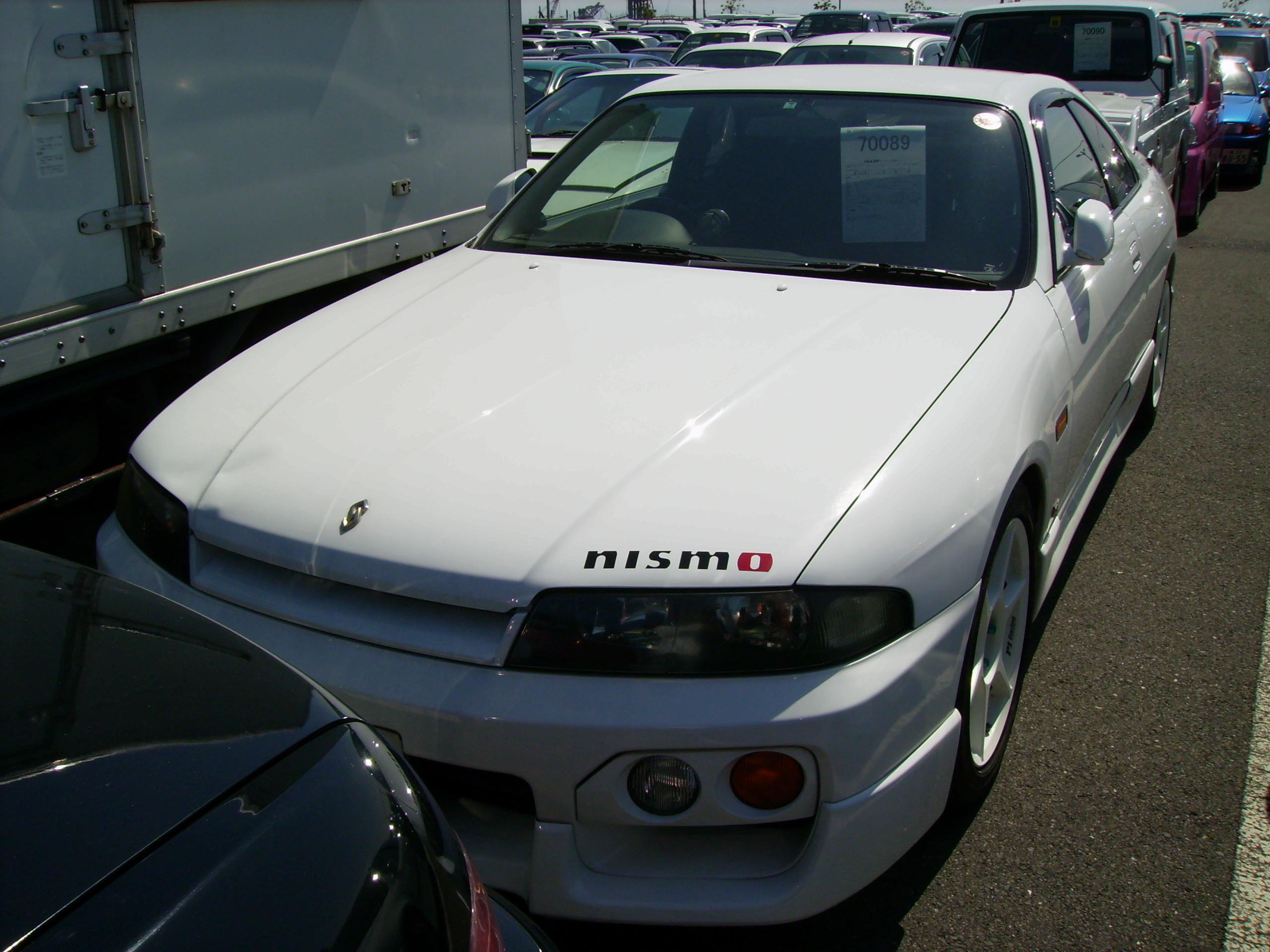1996 Nissan Skyline R33 Gts-t front