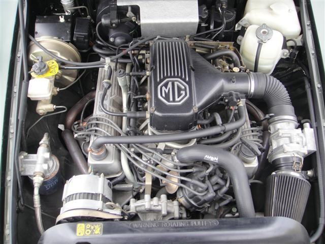 1995 MG RV8 engine