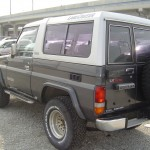 Landcruiser BJ74 rear