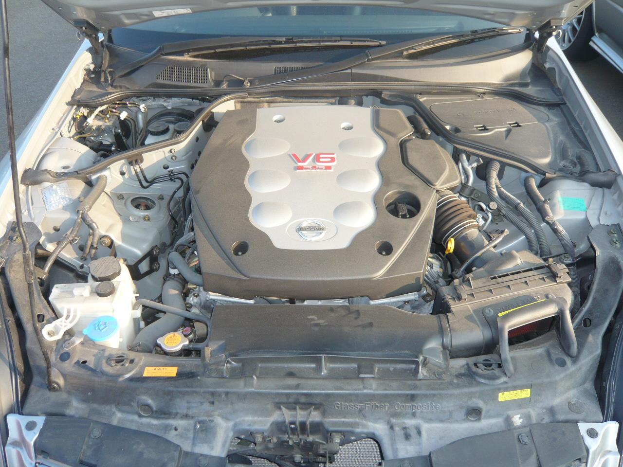 2004 Nissan Skyline V35 350GT Premium coupe 6 speed manual engine