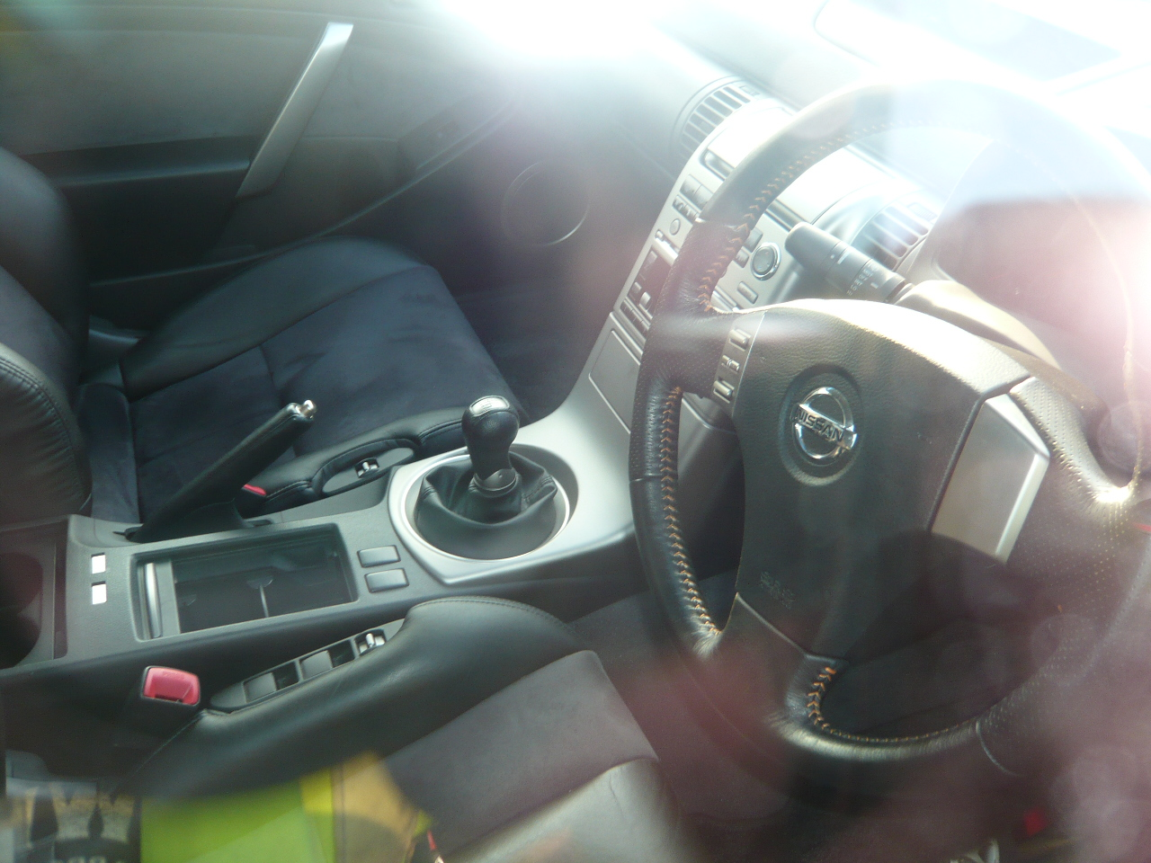 2004 Nissan Skyline V35 350GT Premium coupe 6 speed manual interior