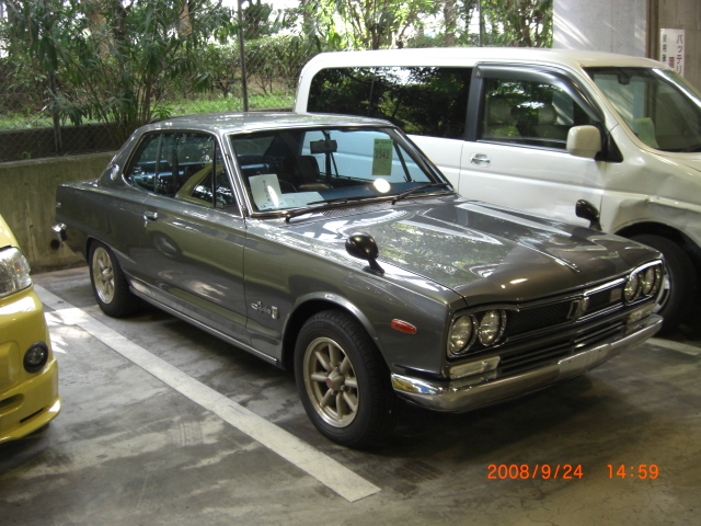 Skyline KGC10 GT coupe Front