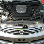 2003 Nissan Skyline V35 350GT-8 Premium sedan engine