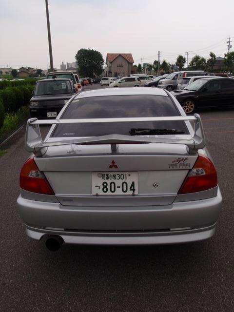 2000 Mitsubishi Lancer EVO 6.5 TME rear