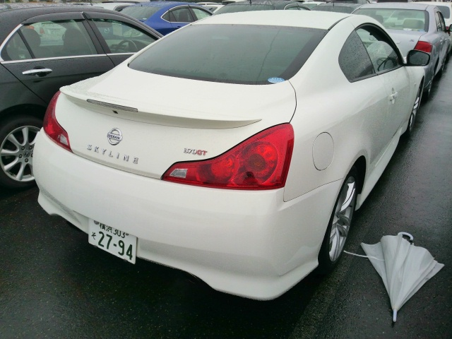 2010 Nissan Skyline V36 coupe