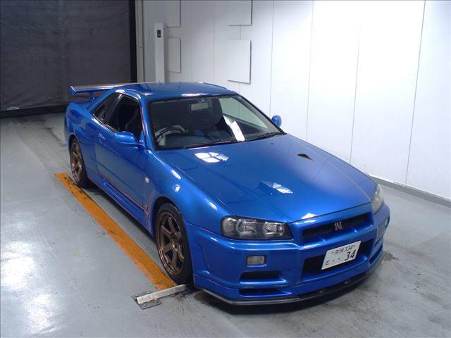 2001 Nissan Skyline R34 GTR VSpec2 50
