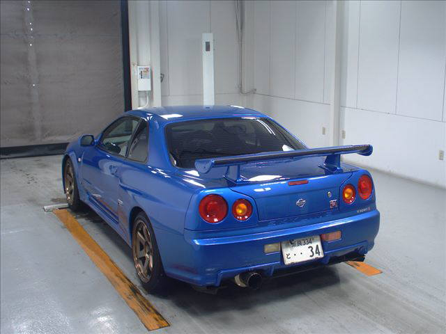 2001 Nissan Skyline R34 GTR VSpec2 51