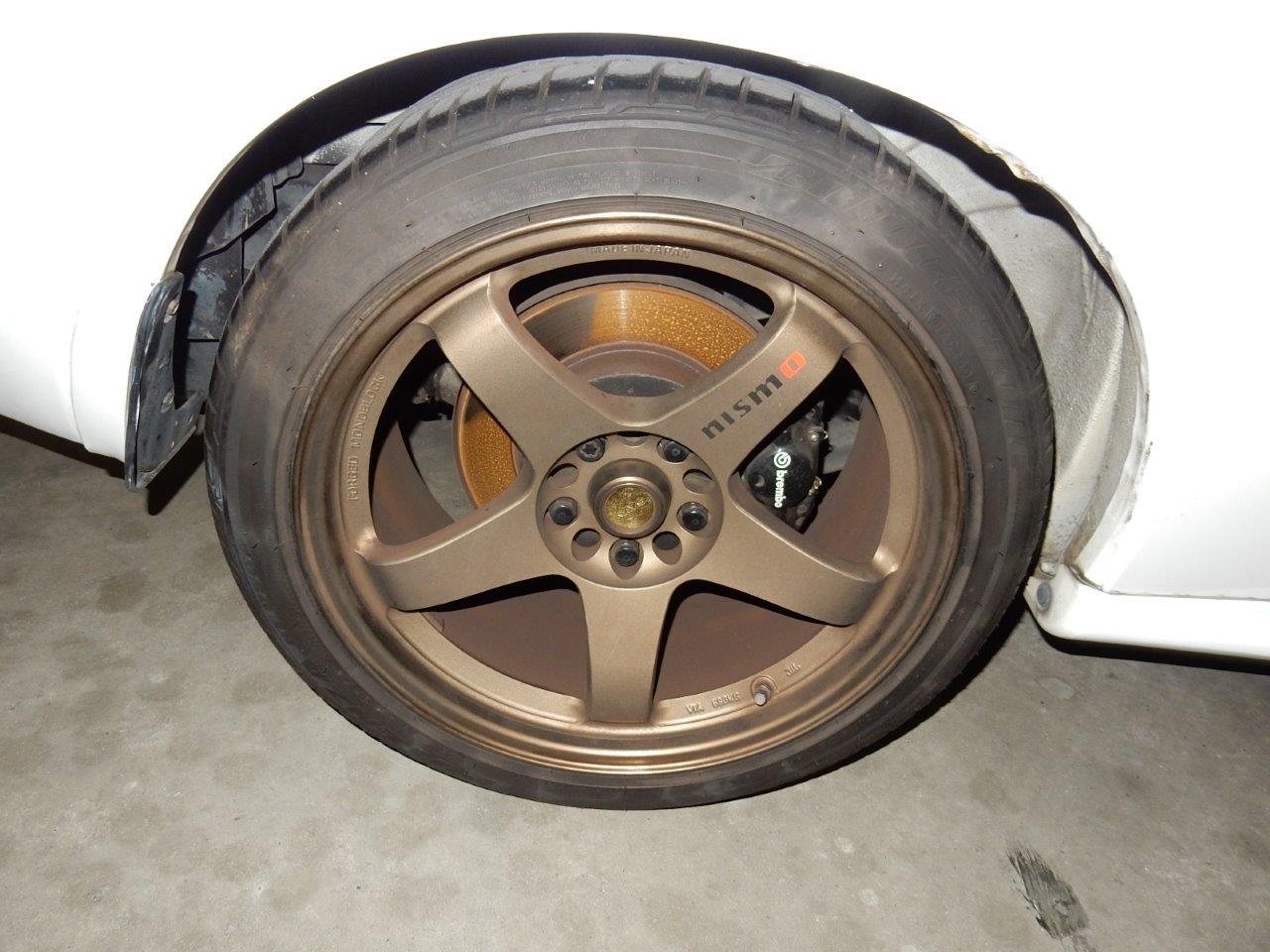 1993 nissan skyline r32 gtr wheel