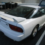 1997 Nissan 180SX 2L turbo right rear