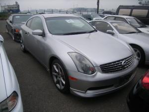 Skyline V35 coupe front