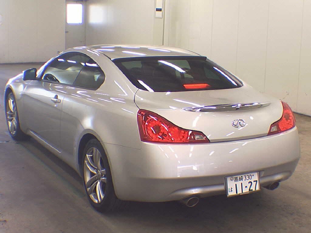 Skyline V36 coupe 370GT rear