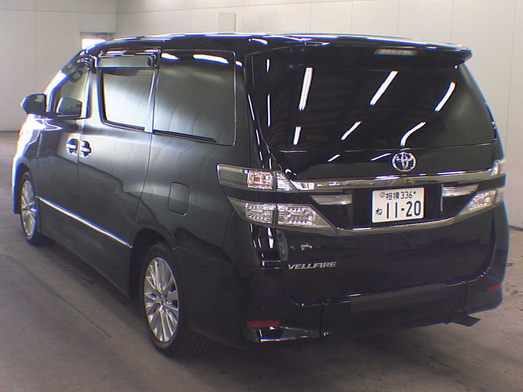 2012 Toyota Vellfire Welcab Sloper