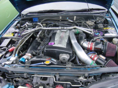 1992 Nissan Skyline R32 GTR MODIFIED engine