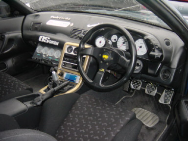 1992 Nissan Skyline R32 GTR MODIFIED interior