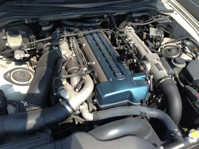 2002 Toyota Supra RZ-S 3L twin turbo 6 speed manual VVTi engine
