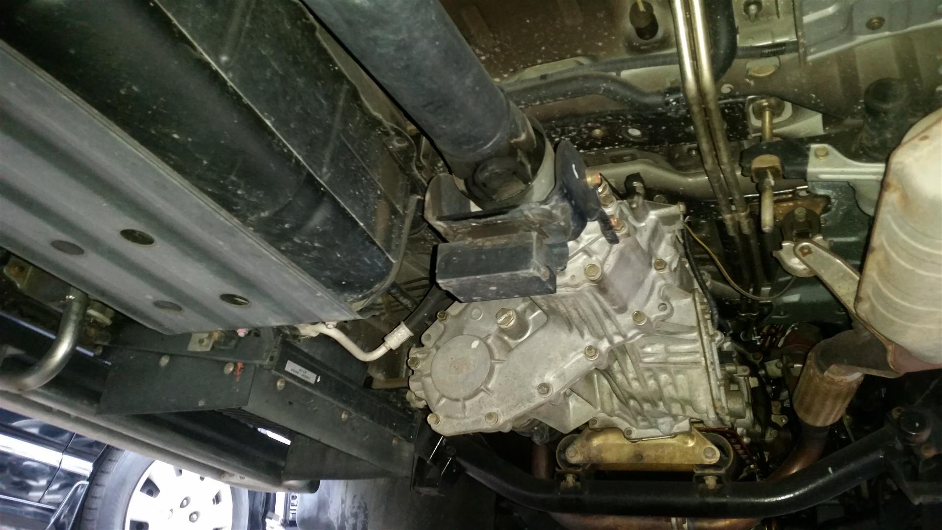 2003 Mitsubishi Delica PD6W Chamonix 7-seater 23