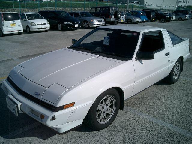 1987 Mitsubishi Starion 2a